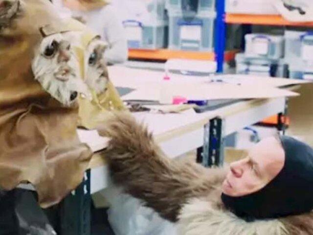 """Star Wars: este es el primer vistazo a los Ewoks en """"El ascenso de Skywalker"""""""