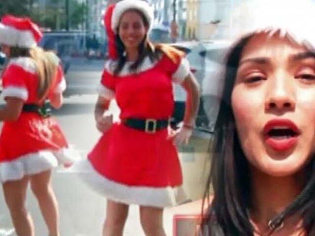 Navidad a la venezolana: bellas Mamanuelas invaden las calles de Lima