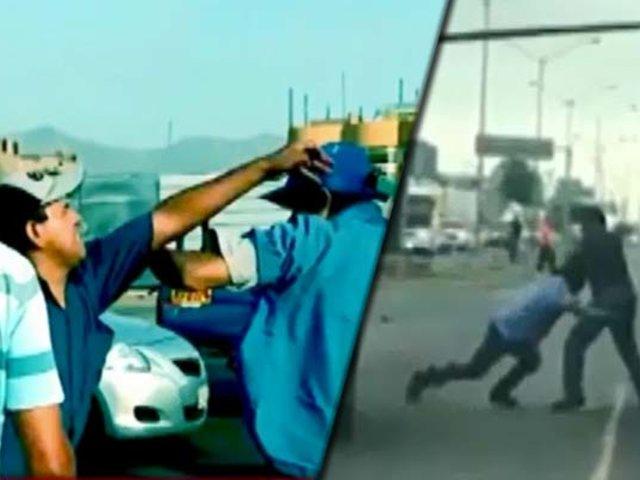 Llegó la época con más caos vehicular y los enfrentamientos a causa del tráfico
