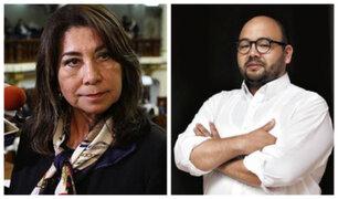 Elecciones 2020: JEE admite candidaturas de Martha Chávez y Diethell Columbus