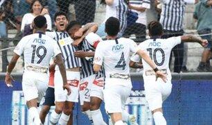 Alianza Lima vence 1-0 a Sporting Cristal en la primera semifinal del play-off