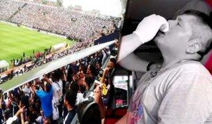 Alianza vs. Cristal: caída de panel publicitario en Matute causó pánico en semifinal