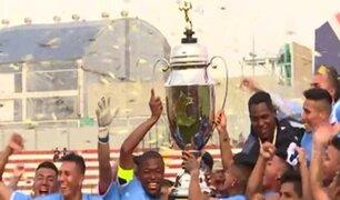 Deportivo Llacuabamba se corona campeón de la Copa Perú