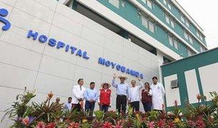 EXCLUSIVO | Inauguración apresurada: Presidente entregó hospital incompleto