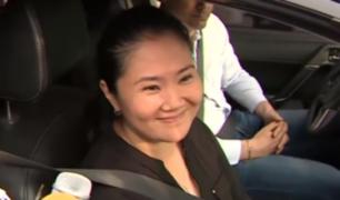 """Keiko Fujimori: """"Me he comprometido en buscar la unión de la familia"""""""