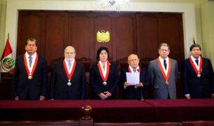 Marianella Ledesma fue elegida presidenta del Tribunal Constitucional