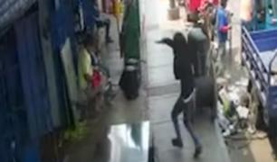 Chincha: asaltan ferretería en solo 30 segundos