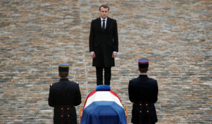 Francia: Macron rindió homenaje a militares fallecidos en Mali
