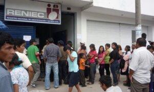 Reniec: ciudadanos podrán imprimir copias certificadas de partidas de nacimiento en casa