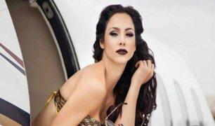 Paloma Fiuza es captada saliendo de su departamento junto a empresario