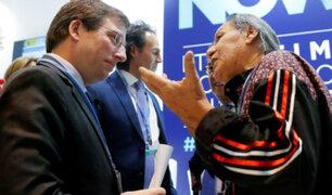 COP25: representante indígena cuestionó a alcalde de Madrid por preferir restaurar Notre Dame que proteger la Amazonía