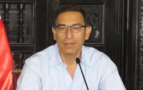 """Presidente Vizcarra: """"El Gobierno que represento defiende la libertad de prensa y expresión"""""""