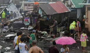 Filipinas: paso de tifón Kammuri deja 4 fallecidos y múltiples daños materiales