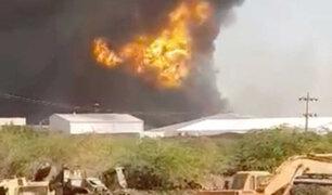 Sudán: 23 muertos y 130 heridos dejó explosión en una fábrica