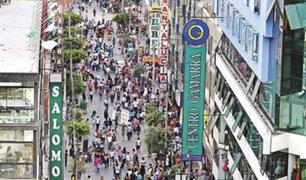 Gamarra: 500 mil personas por día llegarán a comprar por Navidad