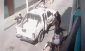 Cercado de Lima: enfrentamiento entre policías y presuntos delincuente generó pánico en vecinos