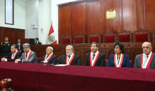 Disolución del Congreso: TC evaluó demanda competencial en audiencia pública