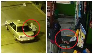 Cruce del terror en Chorrillos: roban a pasajeros de taxis y asaltan bodegas a mano armada