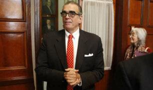 Olaechea negó ante el TC obstruccionismo del Legislativo contra el Ejecutivo