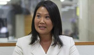 TC declaró improcedente nulidad de fallo que excarceló a Keiko Fujimori