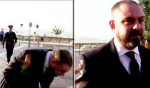 Malta: manifestantes arrojaron huevo a ministro de Justicia