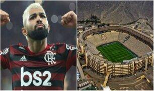 Gabriel ''Gabigol'' Barbosa se tatuó el estadio Monumental tras ganar Copa Libertadores
