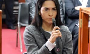 Anulan prisión preventiva contra Melisa Gonzáles Gagliuffi
