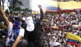 Colombia: se realizó tercer paro nacional en dos semanas