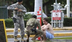 EEUU: marinero mata a dos personas y se suicida en base de Pearl Harbor