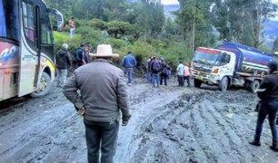 Áncash: vías están bloqueadas desde hace tres días por intensas lluvias
