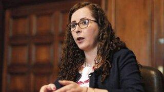 Rosa Bartra: tacha presentada en su contra fue declarada improcedente