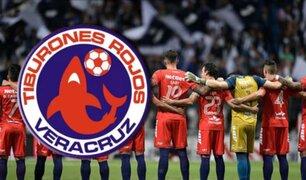 Federación mexicana de fútbol expulsa al Veracruz de la Liga por deudas