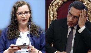 """Rosa Bartra: Martín Vizcarra """"tenía 42 millones de razones para cerrar el Congreso"""""""