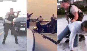 Impactantes imágenes: asalto a joyería deja cuatro muertos en Estados Unidos