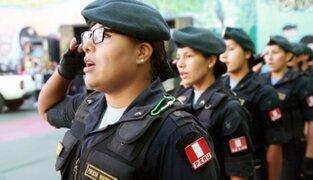 Policía Nacional del Perú conmemora 31 años de vida institucional