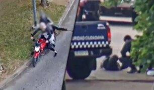 Argentina: ladrón en motocicleta muere tras chocar con un patrullero en Buenos Aires