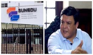 Candidato aprista al Congreso promete dar licenciamiento a todas las universidades