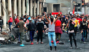 Irak: 23 muertos dejó ataque contra manifestantes antigubernamentales