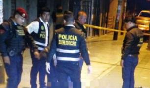 SMP: matan a balazos a mototaxista cerca de Av. Carlos Izaguirre