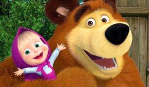 """""""Masha y el Oso"""", el éxito de la animación rusa que conquista el mundo"""