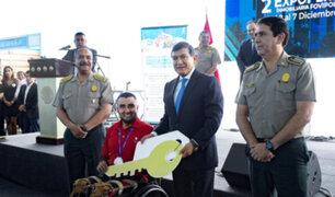 Mininter entregó vivienda a policía que ganó medalla en Parapanamericanos