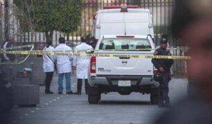 México: cinco muertos deja tiroteo dentro de un edificio cercano al Palacio de Gobierno