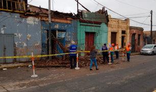 Cercado: seis familias afectadas tras voraz incendio en casona