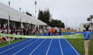 San Isidro: inauguran moderna pista atlética