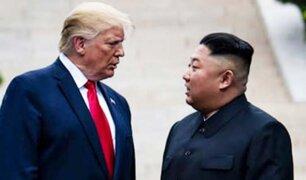 Donald Trump insta a Corea del Norte a desnuclearizarse