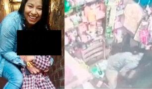 VES: mujer embarazada muere asesinada durante asalto a un agente bancario