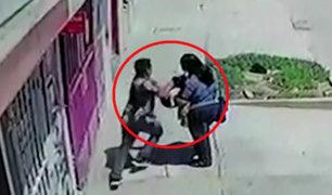 Chiclayo: cámaras de seguridad captan robo de celular a mujer