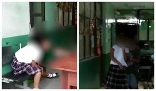 Chiclayo: intervienen a escolares de 14 años en estado de ebriedad