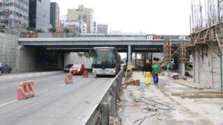 Metropolitano: desvió por obras de nueva estación provoca congestión vehicular