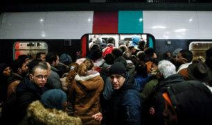 Francia: atascos y transporte público paralizado en quinto día de huelga